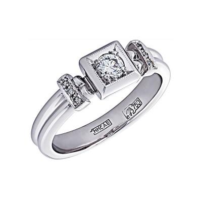 Золотое кольцо с брилли...